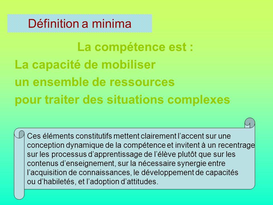 Ses principales caractéristiques Complexe Évolutive Interactive Globale et intégrative Ne réside pas dans la somme mais dans l organisation dynamique de ses composantes.