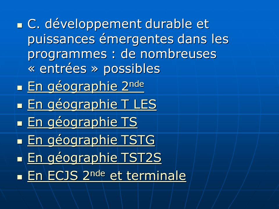 Document 10 : La Chine et le monde, données statistiques (Lespace mondial.