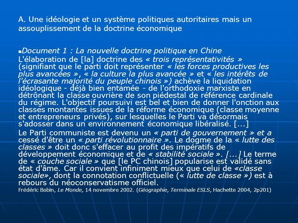 Document 15 : Trafic maritime. Lespace mondial. Géographie TS, Magnard, 2004 (2p27)