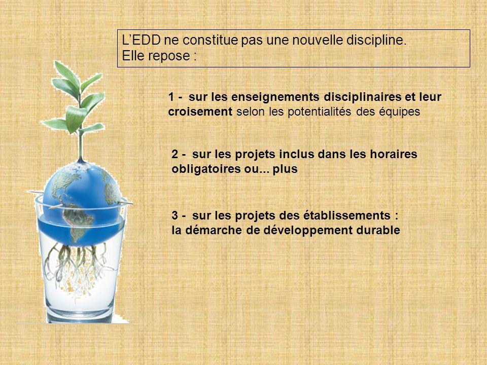 Les établissements et la prise en compte du développement durable - Les établissements éco-responsables sengagent à réduire leurs déchets, leur consommation dénergie, deau, de papier.