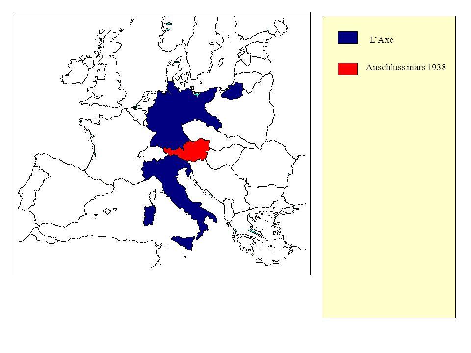 LAxe Anschluss mars 1938