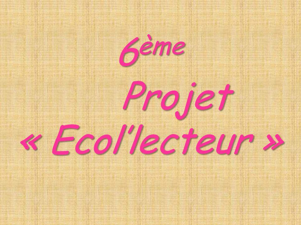6 ème Projet« Ecollecteur »