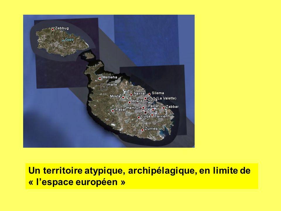 Un territoire atypique, archipélagique, en limite de « lespace européen »