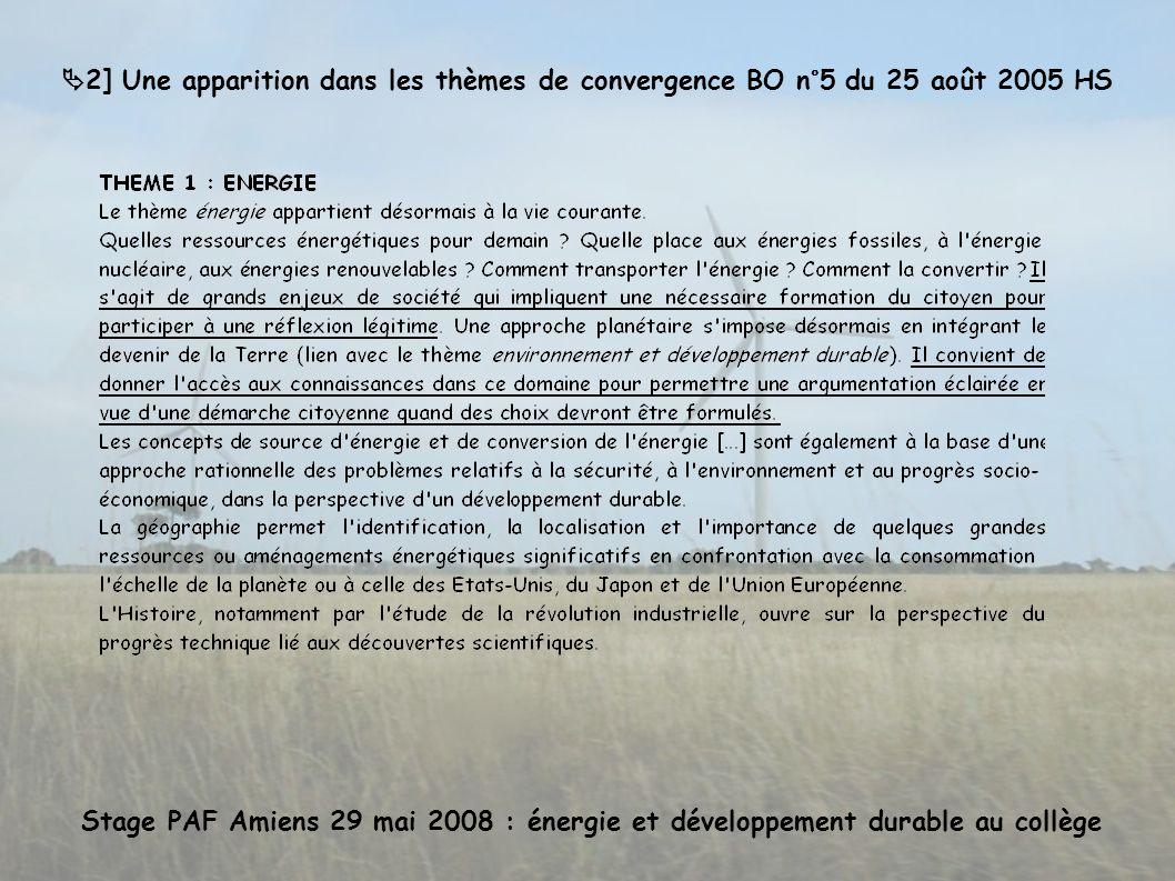 3] Que préconise la DEGESCO en terme de développement durable .