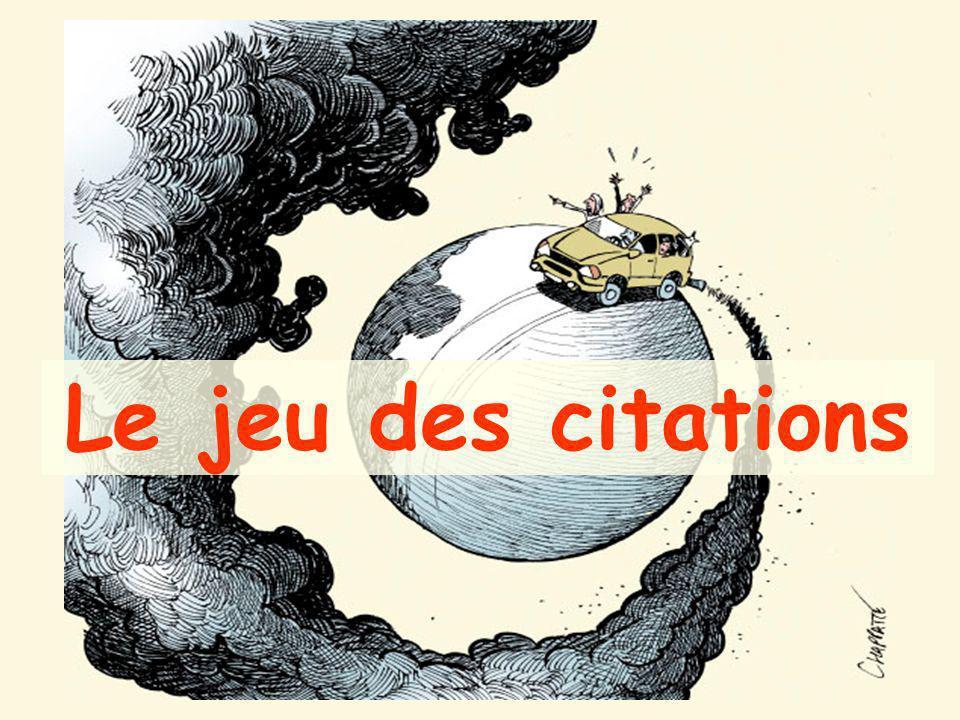 Au total, le développement durable est bien une utopie: Un combat contre tous les égoïsmes Un « accélérateur de responsabilités » Un enjeu citoyen: une « vraie » démocratie participative?