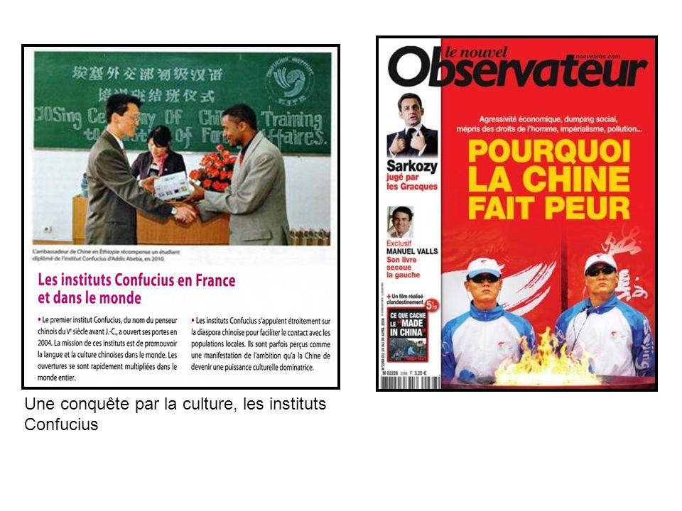 Une conquête par la culture, les instituts Confucius