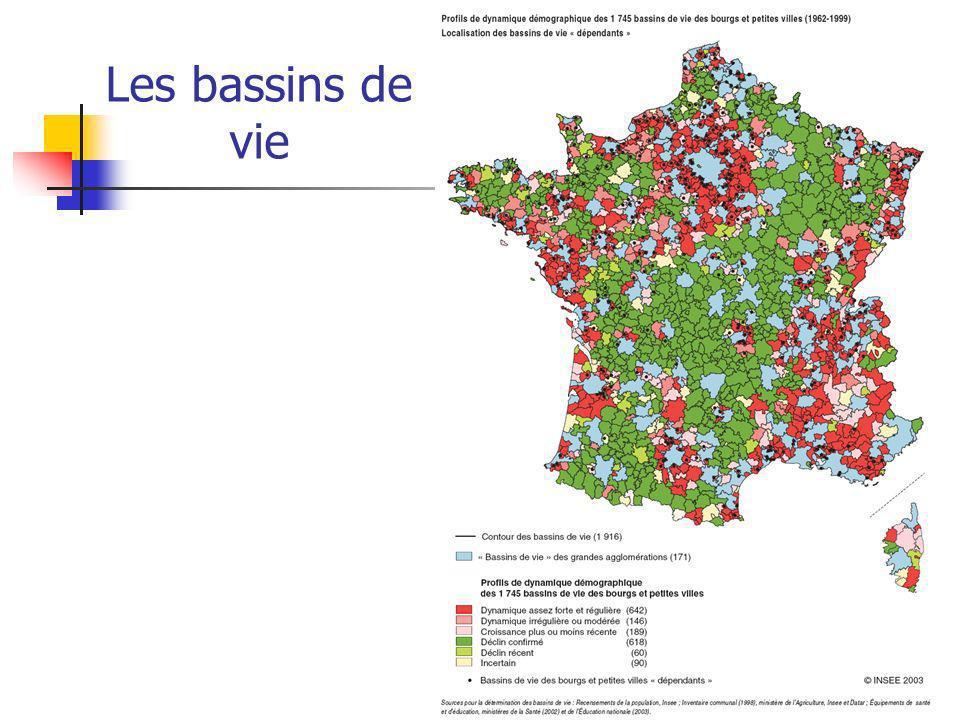 Les zones demploi dans la région Poitou-Charentes 13 zones demploi au total