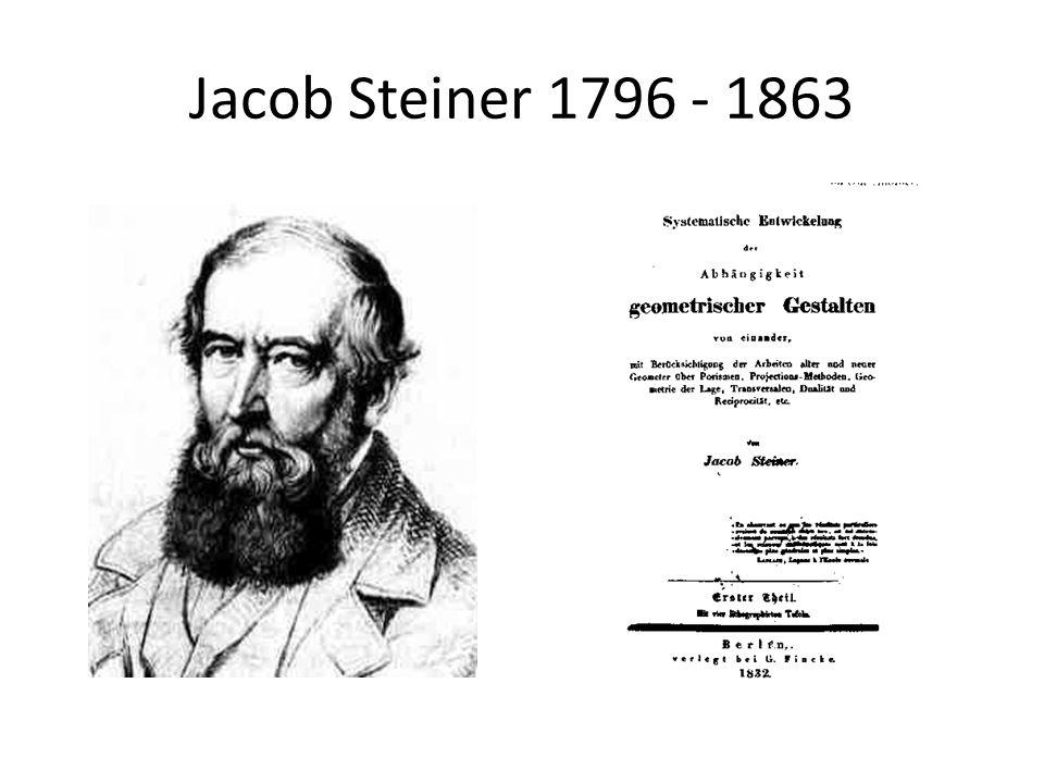 Jacob Steiner 1796 - 1863