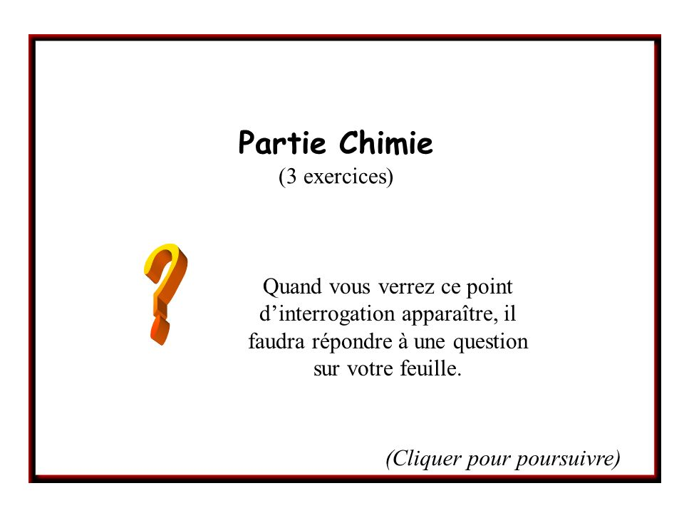 Exercice n°3 / Question 2.