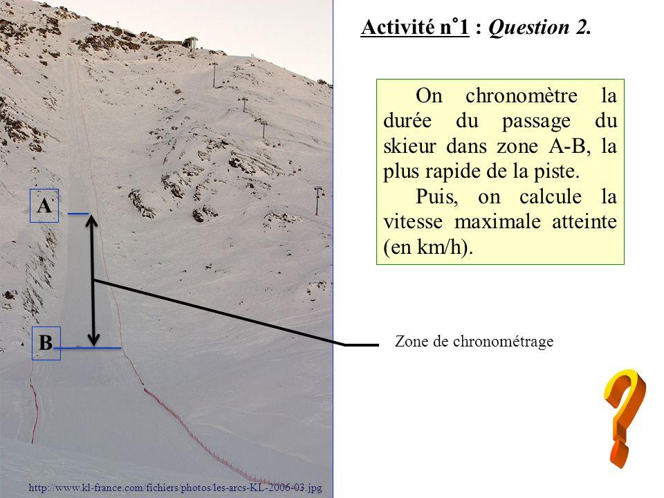 Activité n°1 : Question 3.