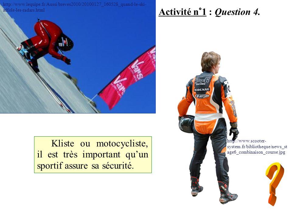 Activité n°1 : Question 5.