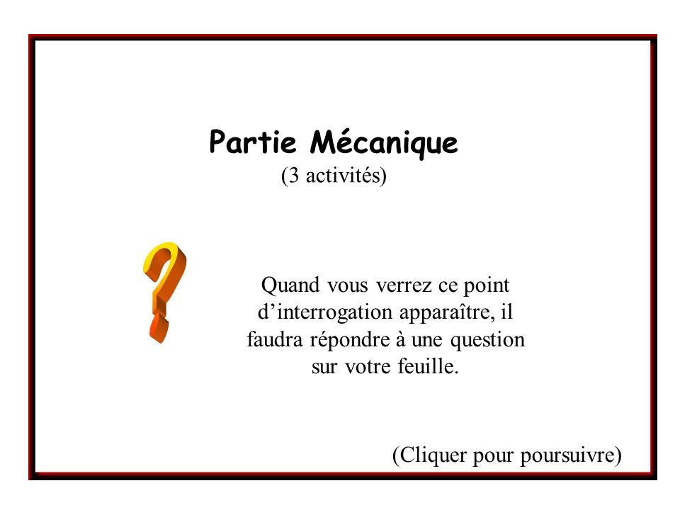 Activité n°1 : Question 1.