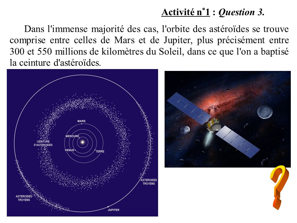 Activité n°1 : Question 3.