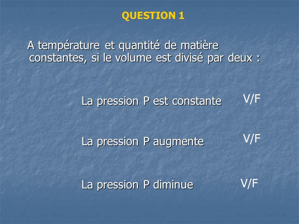 Peut-on vérifier la réponse ? - Aide : citer la loi de Boyle-Mariotte et lappliquer.