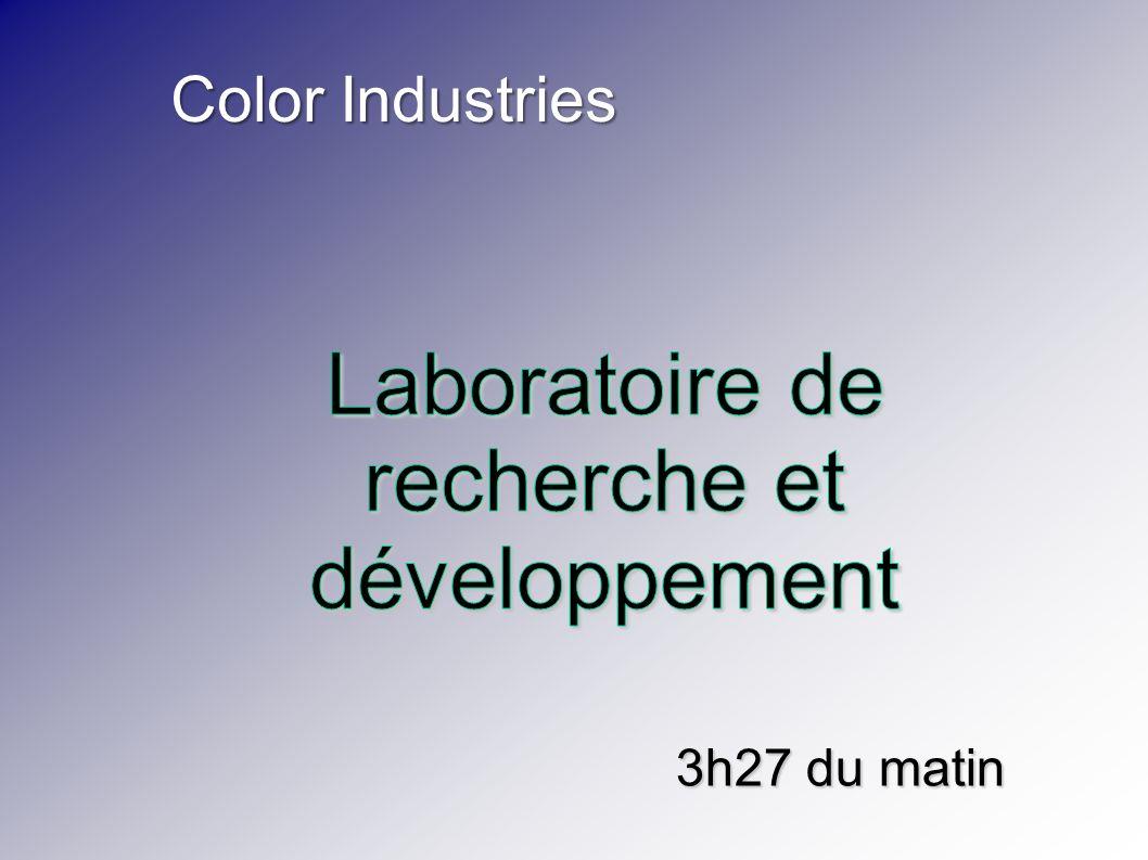 Color Industries 3h27 du matin
