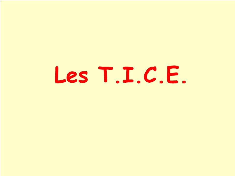 Les T.I.C.E.