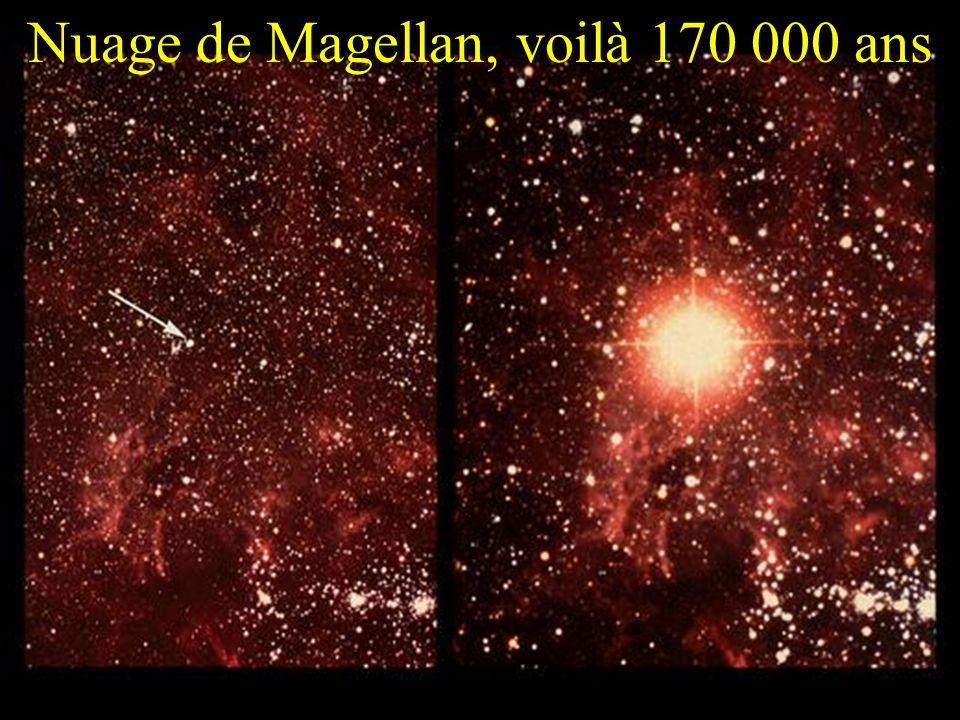 Nuage de Magellan, voilà 170 000 ans