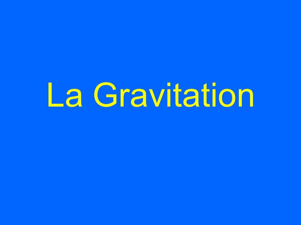 La Gravitation