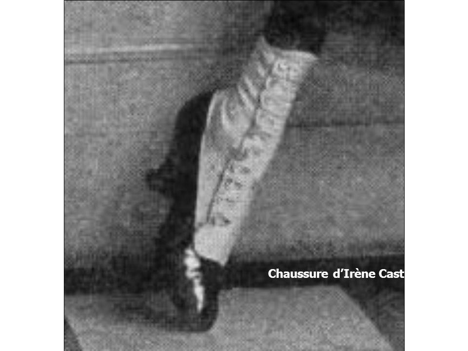 Chaussure dIrène Castle, 1917