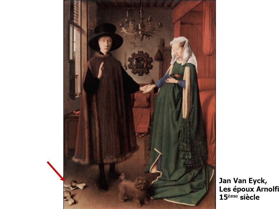 Jan Van Eyck, Les époux Arnolfini 15 ème siècle