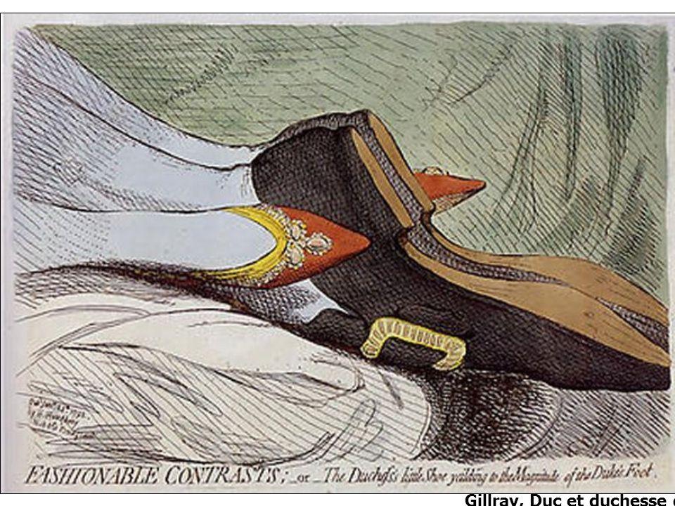 Gillray, Duc et duchesse dYork, 1792