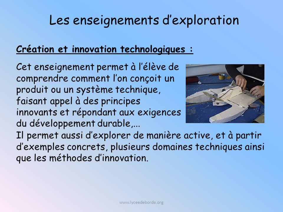Cet enseignement permet à lélève de comprendre comment lon conçoit un produit ou un système technique, faisant appel à des principes innovants et répondant aux exigences du développement durable,...