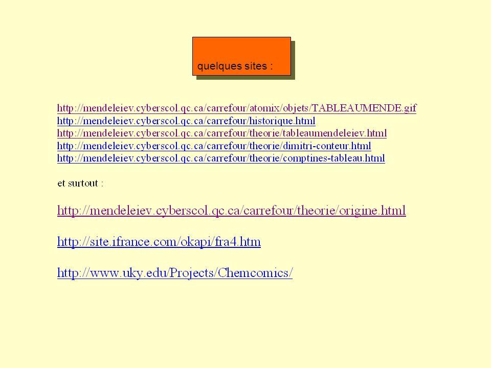 quelques sites :