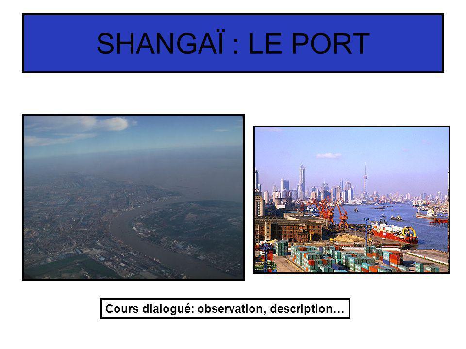 LURBANISME DE SHANGAÏ …qui sont complétées par des documents annexes (textes, statistiques) permettant de donner une vision plus précise des activités et de limportance de Shangai.