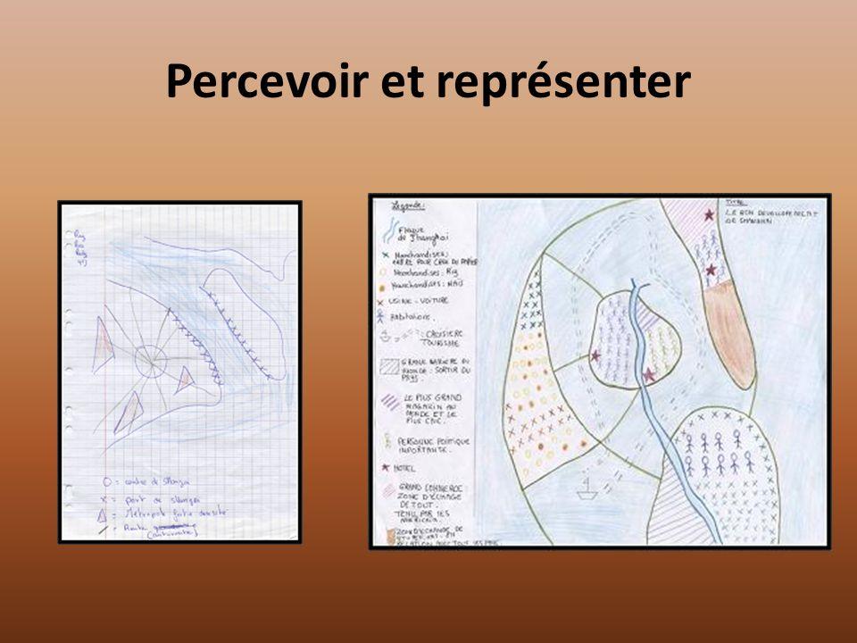 Percevoir et représenter