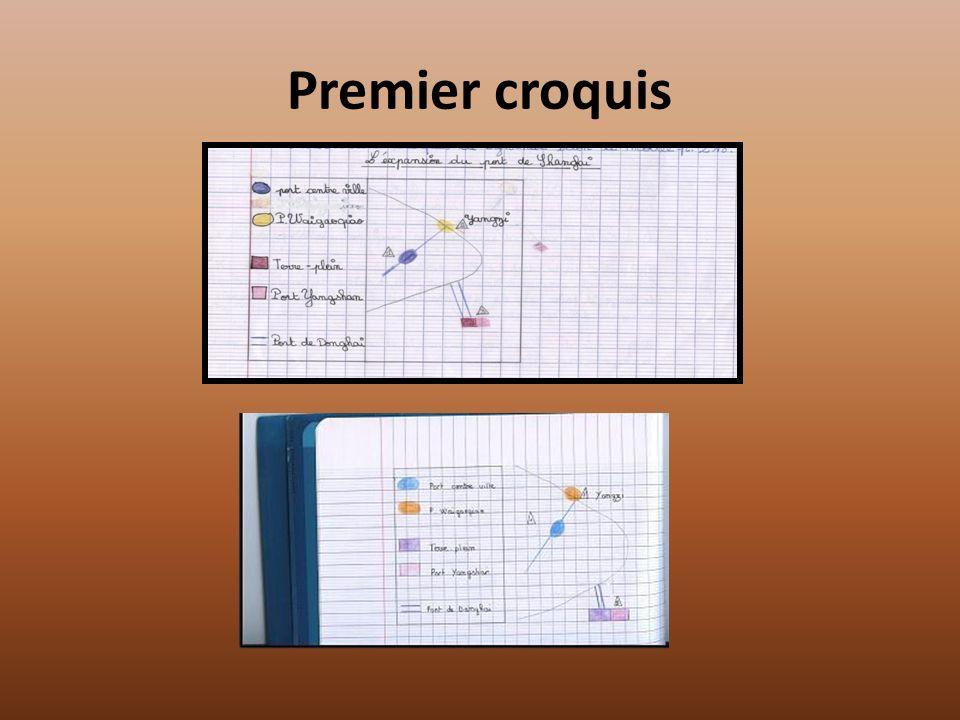 Premier croquis