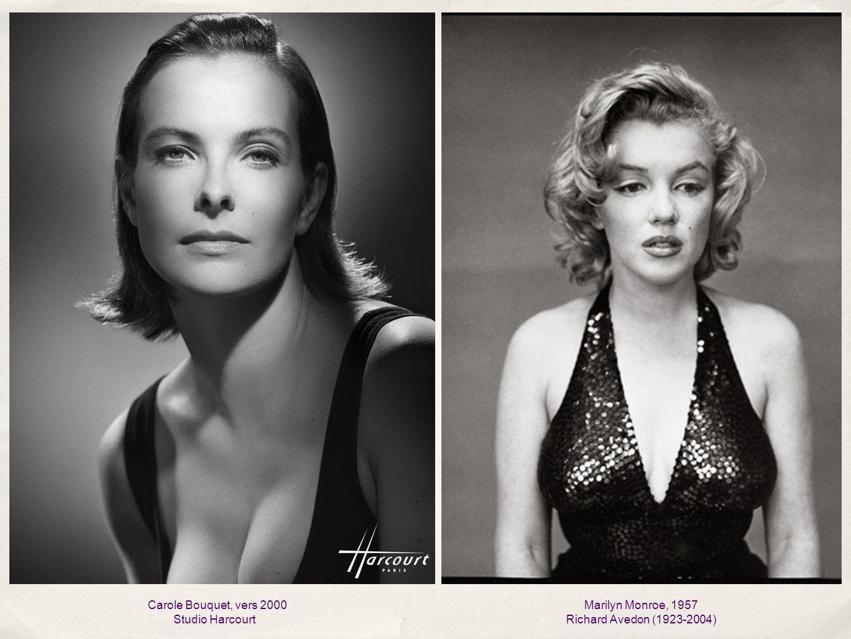 Carole Bouquet, vers 2000 Studio Harcourt Marilyn Monroe, 1957 Richard Avedon (1923-2004)