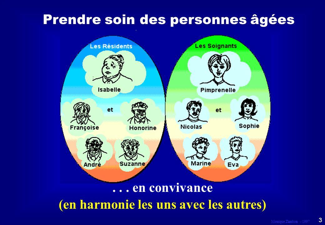 Monique Zambon - 1997 3 Prendre soin des personnes âgées...