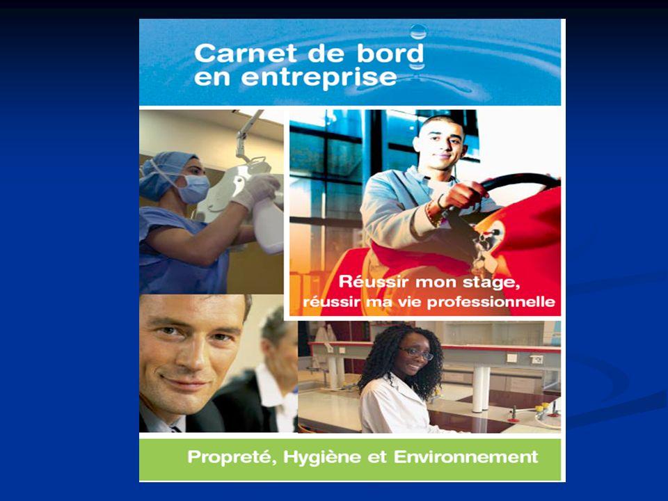 Pour accompagner vos périodes de Formation en entreprise, la Fédération des Entreprises de Propreté a produit un « carnet de bord » un « carnet de bor