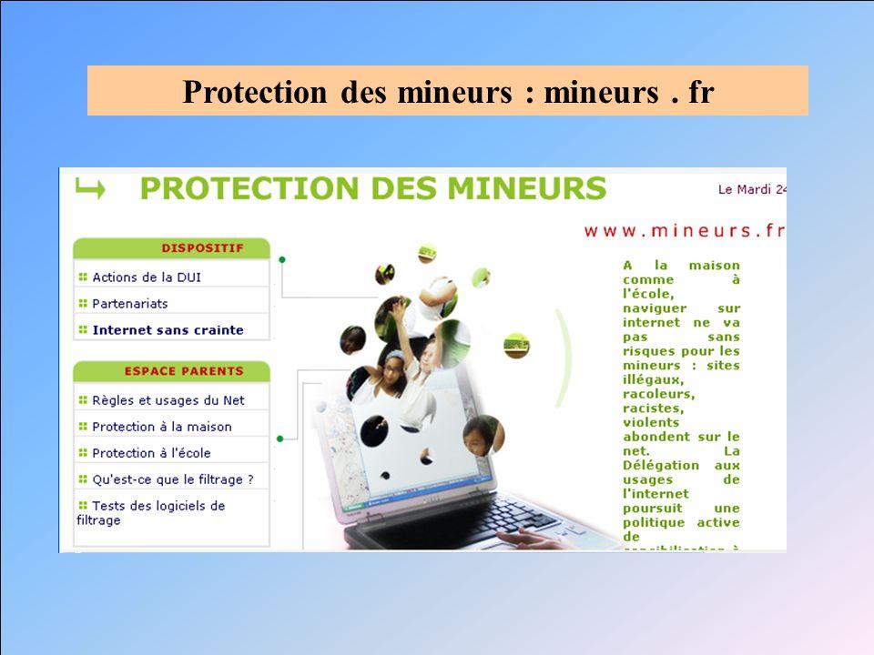 Protection des mineurs : mineurs. fr