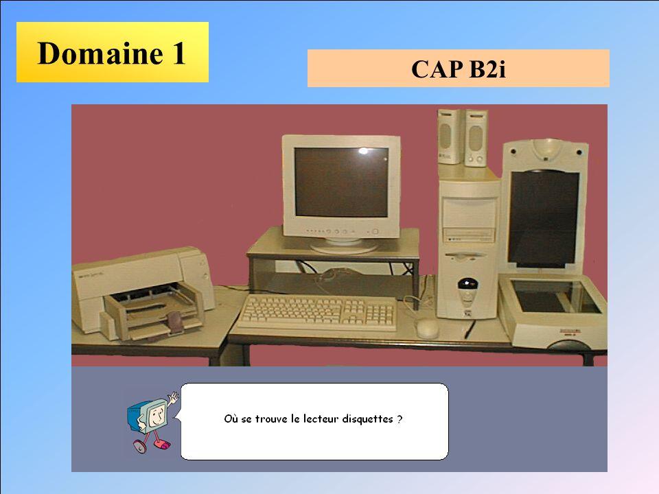 Domaine 1 CAP B2i