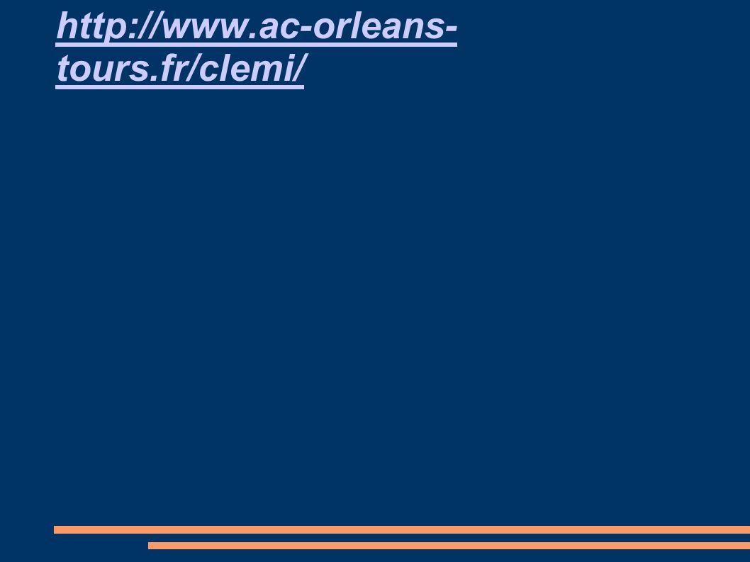 http://www.ac-orleans- tours.fr/clemi/