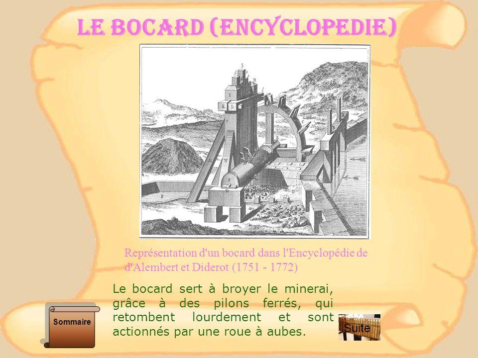 Gueulard : ouverture supérieure dun haut-fourneau Herbue : fondant argileux employé dans le traitement des minerais de fer au haut fourneau.