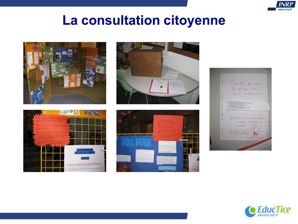 La consultation citoyenne