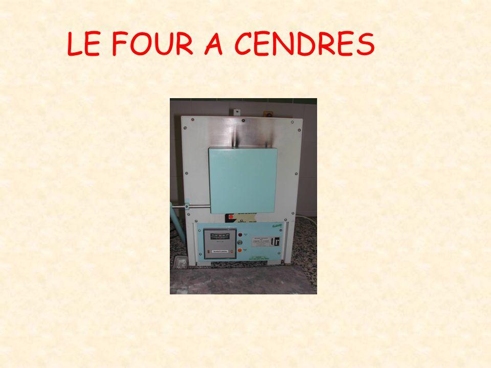 LE FOUR A CENDRES
