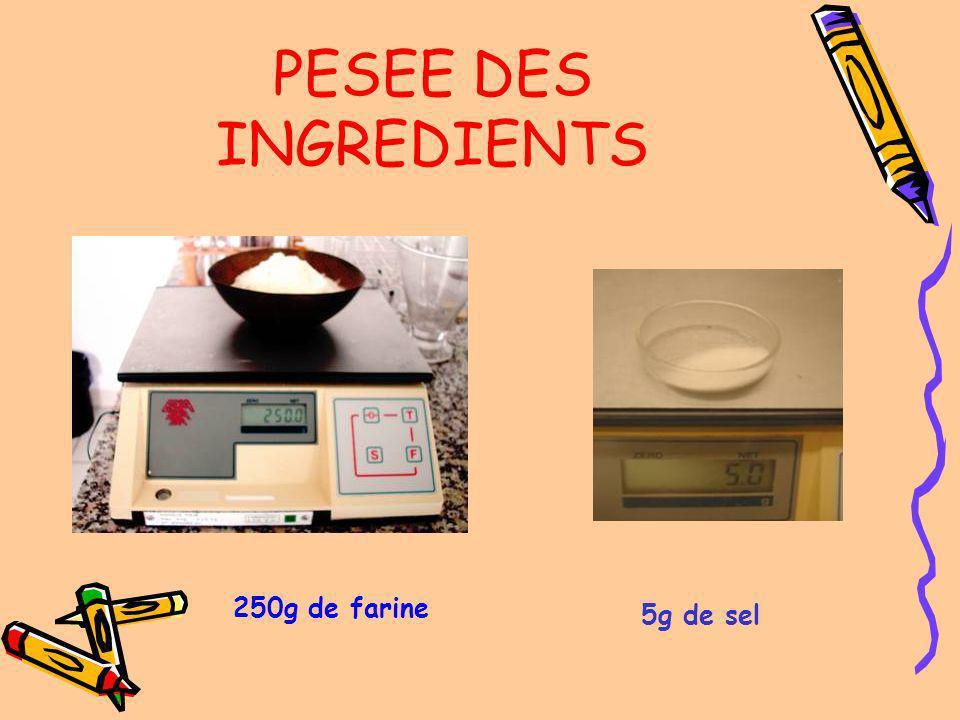 Le panier de fermentation et le poids Le rhéofermentomètre et son imprimante LE MATERIEL