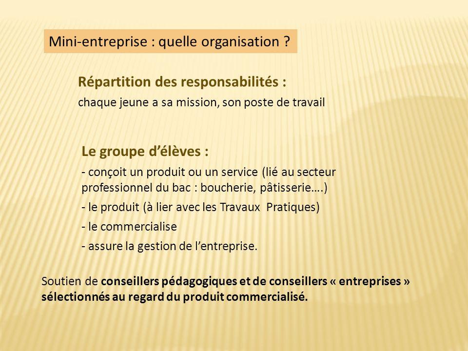 Soutien de conseillers pédagogiques et de conseillers « entreprises » sélectionnés au regard du produit commercialisé.
