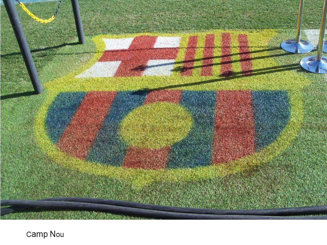 Mardi 21 février : le Camp Nou C amp N ou