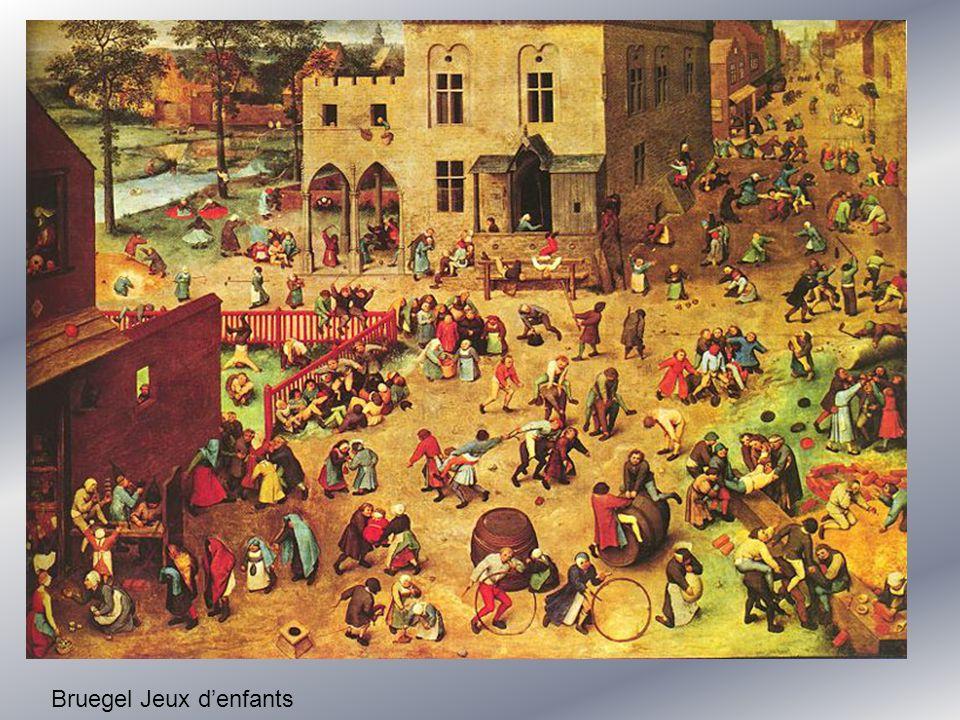 Bruegel Jeux denfants