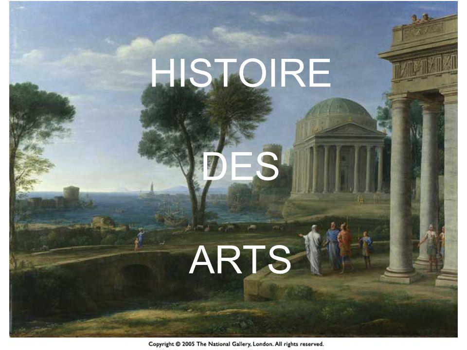 Histoire des arts Une commande politique Une nouveauté relative car depuis toujours existe une pratique des œuvres dart dans les disciplines du « pôle des humanités ».