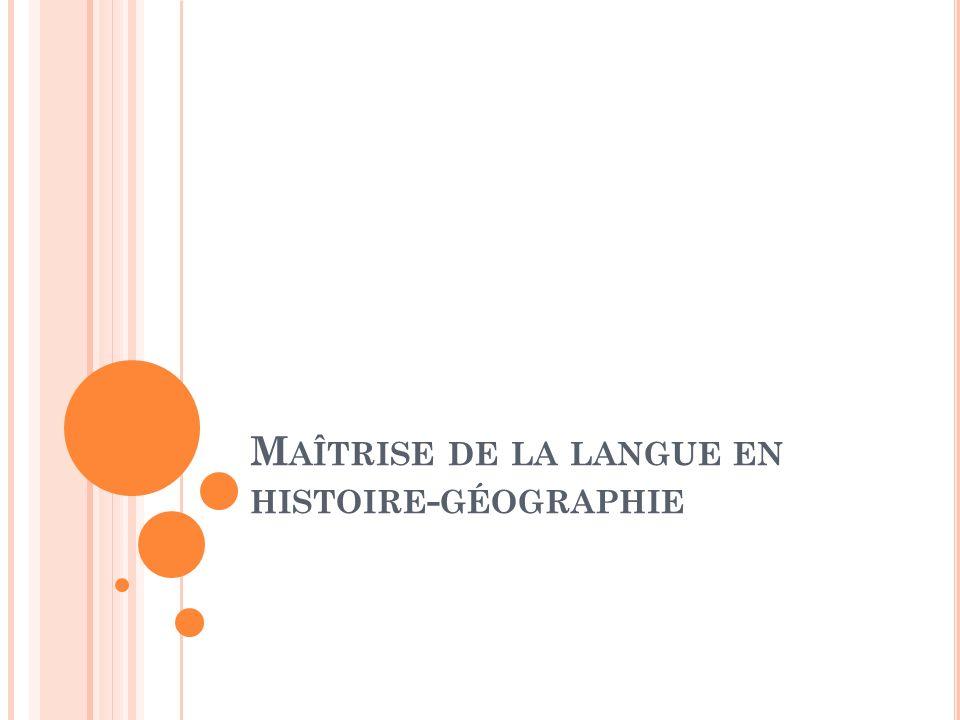 Comment la langue contribue-t-elle à structurer les apprentissages.