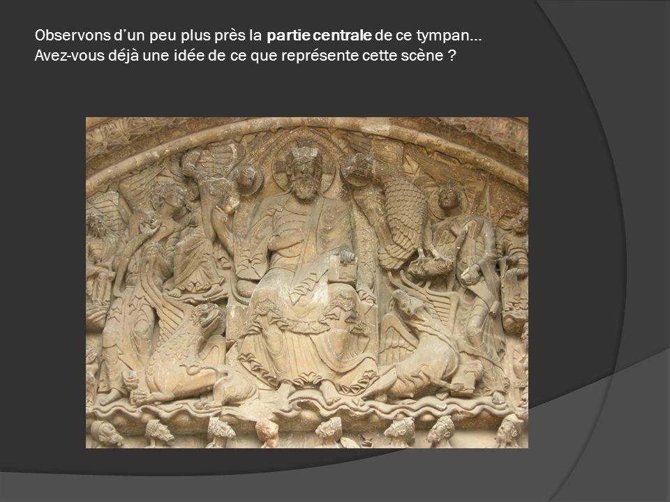 Les 24 anciens portent des couronnes sur leurs têtes, des coupes et des instruments de musique dans leurs mains (même si certaines sculptures ont été un peu abîmées avec le temps…).