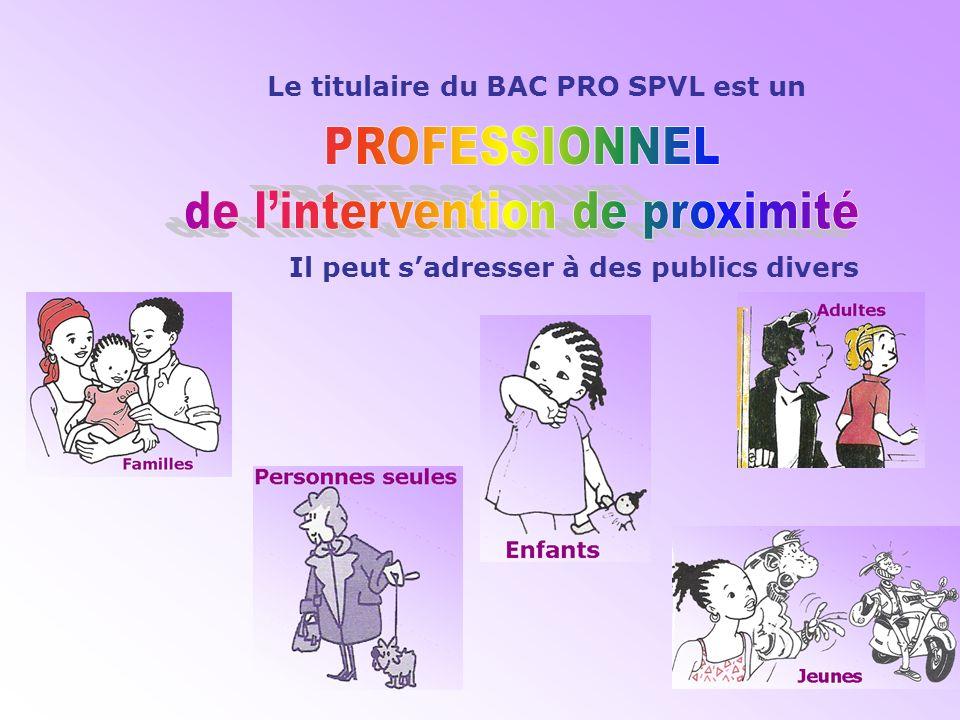 S P V L ERVICES de ROXIMITE et IE OCALE