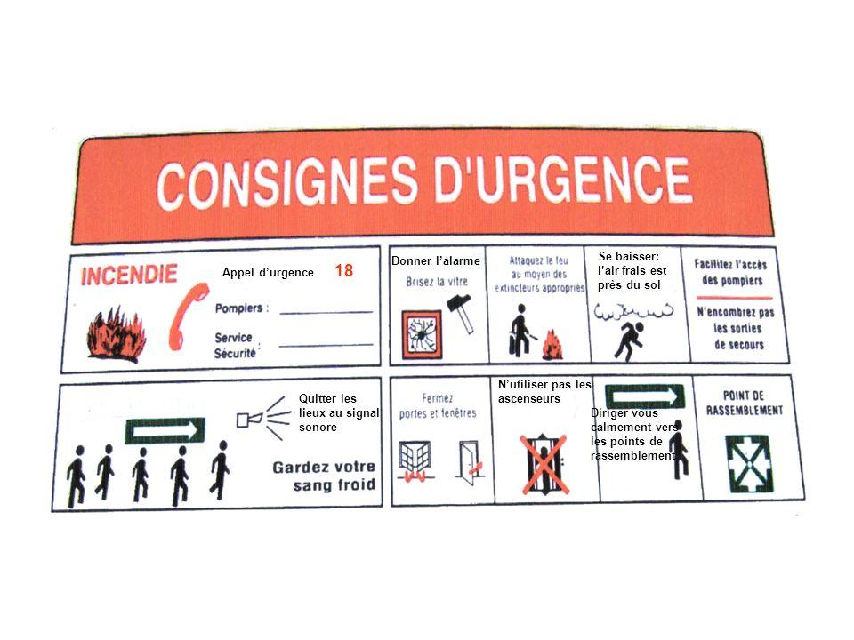 Libérer les voies daccès réservées aux pompiers Téléphoner au 18