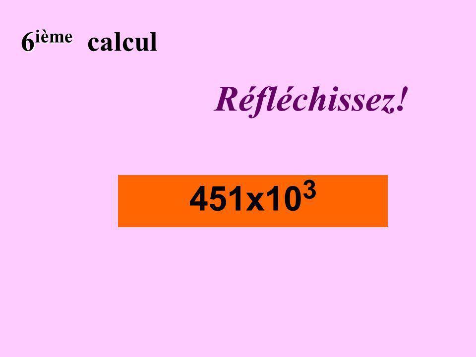 Écrivez ! 5 ième 5 ième calcul 0,000 034