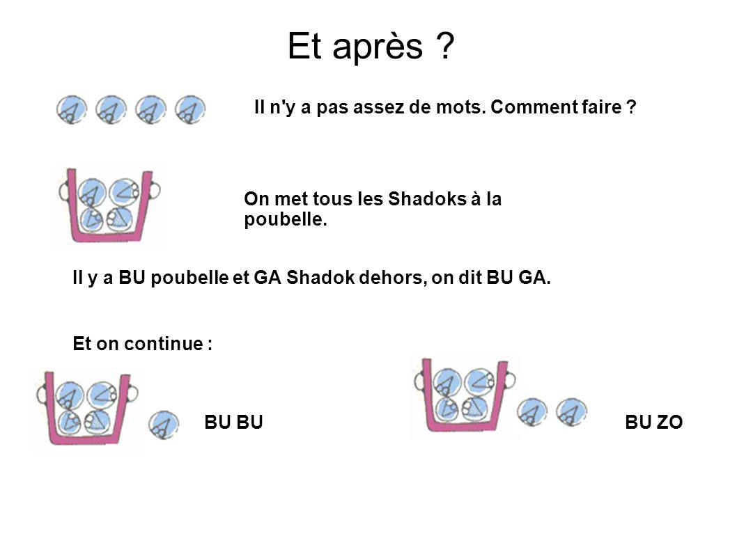 MEU poubelles et MEU shadoks : MEU MEU Et si je rajoutais ENCORE un Shadok ??.